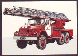 Le Materiel Moderne D` Incendie. - Ansichtskarten