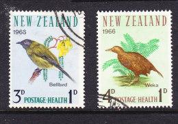 New Zealand 1966 Health Set Fine Used - New Zealand