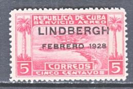 C UBA C 2  *  LINDBERGH - Airmail