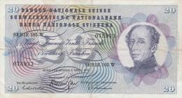 SUISSE 1973 20F N° 034703 - Suisse