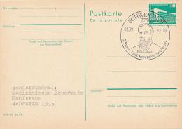 DDR - 1985 , SCHWERIN , Medizin. Esperanto-Konferenz + 1986 , Leipzig , Intern. Esperanto-Messetreffen - Esperanto