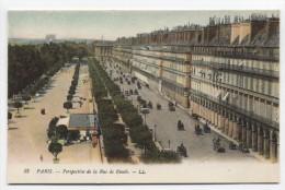 FRANCE ~ Perspective De La Rue De Rivoli PARIS C1907 Postcard - Francia