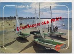 85 - SABLES D' OLONNE - LA PLAGE AU SOLEIL LEVANT - Sables D'Olonne