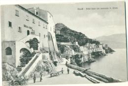 AMALFI Animata Hôtel Luna Con Panorama Di Airani C. 1908 - Salerno