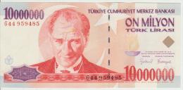 Turkey 10000000 Liras 1970(99) Pick 214 UNC - Turkije