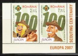 CEPT 2007 RO MI 6190-91 ROMANIA - Europa-CEPT