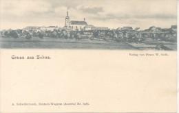 GRUSS AUS ZEBUS VERLAG VON FRANZ W. GUTH A. SCHWIDERNOCH DEUTSCH-WAGRAM AUSTRIA NR. 8485 CPA DOS NON DIVISE TBE UNCIRCUL - Gänserndorf