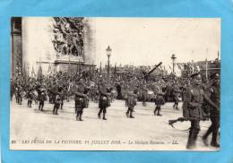 Guerre 14-18-1919 Défilé De La Victoire 14 Juillet--la Musique écossaise - War 1914-18