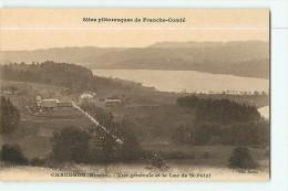 CHAUDRON - Vue Générale - Le Lac SAINT POINT - Ed. Martin - 2 Scans - France