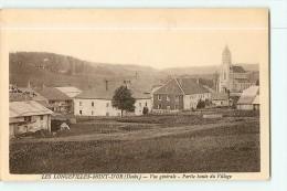 Les LONGEVILLES MONT D' OR - Partie Haute Du Village - Vue Générale -  Ed. Karrer - 2 Scans - France