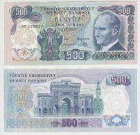 Turkey 500 Liras 1970 Pick 190 UNC - Turchia
