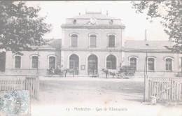 MONTAUBAN  Gare De Villenouvelle   TB (taches Accentuées Par Scan) - Montauban