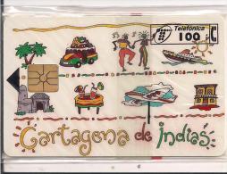 TARJETA CARTAGENA DE INDIAS - Tarjetas Telefónicas