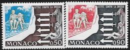 MONACO N° 951 / 952  -  LUTTE CONTRE LA DROGUE  -  NEUF  -  1973 - Mónaco