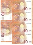 10 €  ITALIA FDS UNC Serie Completa S002 A-b-c-d-e-f  Cod.€.068 - EURO