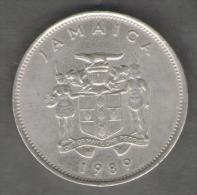 GIAMAICA 20 CENTS 1989 - Giamaica