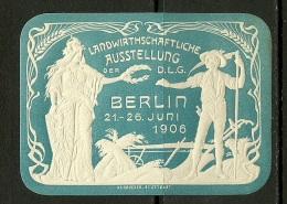 Reklamemarke 1906 Landwirtschaftliche Ausstellung Berlin MNH - Vignetten (Erinnophilie)