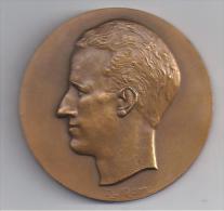 Belgique - Grande Médaille Du Roi BAUDOUIN - Royaux / De Noblesse