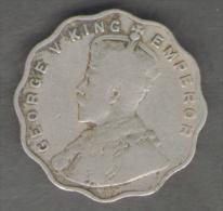 INDIA BRITISH COLONY 1 ANNA 1914 GEORGE V - Colonie