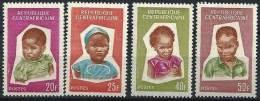 """Centrafrique YT 37 à 40 """" Série Enfants """" 1964 Neuf** - República Centroafricana"""