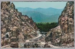 AK ALGERIE 1960-08-10 Poste  Aux Armées Route Pittoresque Photo Sirecky - Algérie