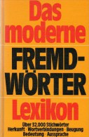 Fremdw�rter Lexikon A bis Z antiquarisch 16� Herkunft Verbindung Bedeutung Aussprache 32000Worte history book of Germany