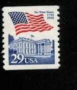 209417093 DB 1992 USA POSTFRIS MINT NEVER HINGED POSTFRISCH EINWANDFREI SCOTT  2609 Flag - Ungebraucht