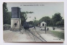 CPA - 77 - BRAY SUR SEINE - La Gare - Bray Sur Seine