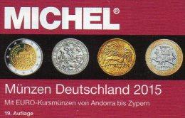 Münzen MICHEL Deutschland 2015 Neu 27€ D DR Ab 1871 III.Reich BRD Berlin DDR Numismatik Coin Catalogue 978-3-95402-107-9 - Andere
