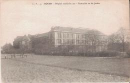 ROUEN 3 HOPITAL AUXILIAIRE 103 ENSEMBLE VU DU JARDIN  1917 - Weltkrieg 1914-18