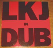 Disque 105 Vinyle 33 T LKJ In Dub - Reggae
