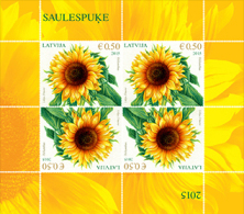 Latvia 2015 Mih. 940 Sunflower (M/S) MNH ** - Latvia