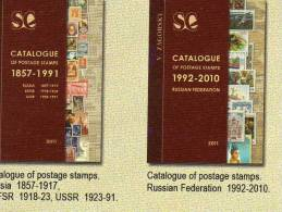 Neu 2011 Two Catalogues Russlan Plus Sowjetunion 62€ For Expert-mans Of The Varitys Topics From Old And New RUSSIA USSR - Badges