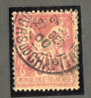 4932  France 1898  Yt.#104  (o)  Scott #107  Offers Welcome! - 1876-1898 Sage (Type II)
