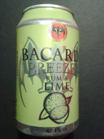 Alt676 Lattina Bibita Boite Boisson Can Drink Lata Bacardi Breezer Rum & Lime Cuba - Cannettes
