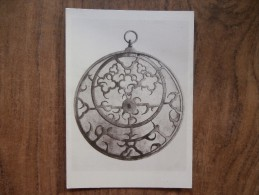 41873 POSTCARD: MUSEUM:  British Museum. ENGLISH ASTROLABE, About A.D. 1260. - Museum