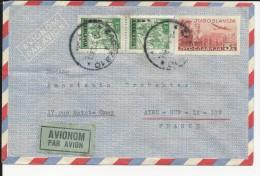 Yougoslavie : Enveloppe Entier Postal Par  Avion + Timbres - Postal Stationery