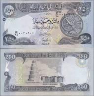 Iraq - 250 Dinars 2013 2014 UNC Ukr-OP - Irak