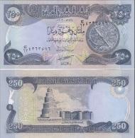 Iraq - 250 Dinars 2003 UNC Ukr-OP - Iraq
