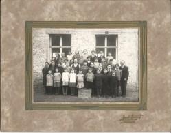MONTIGNIES-SAINT-CHRISTOPHE - Superbe Photo Ecole  Probablement Années 20  Dimensions Carton 26,7 / 20,7 Photo 16,5 / 11 - Erquelinnes