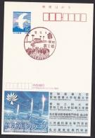 Japan Scenic Postmark, Sports Park, Irises (js1422) Advertising: Computer Graphics Business School Dentist - Japan