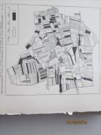 Commune De SEICHAMP    Pres De  Nancy   2 Plan   Carte De    Remembrement En  1940 ... - Maps