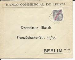 PORTUGAL - 1910 - ENVELOPPE De LISBOA Pour BERLIN (ALLEMAGNE) - Marcophilie