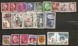 Réunion CFA Lot 20 Timbres Obliteres - Réunion (1852-1975)