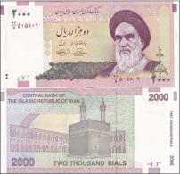 Iran - 2000 Rials UNC Ukr-OP - Iran