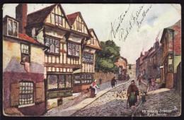 Angleterre  -   Sussex  - RYE   -  Mermaid Street -  Postée En 1907 - Rye