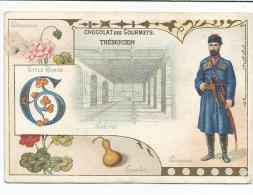 CHROMOS CHOCOLAT TREBUCIEN - LETTRE G - Chocolate