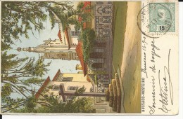 PORTUGAL - 1904 - CARTE De BUSSACO Pour DIJON - Marcophilie