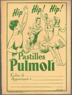 PROTEGE CAHIER PASTILLES PULMOLL - Buvards, Protège-cahiers Illustrés