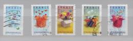 FRANCE N° 4082 à 4086 (YT) SERIE TIMBRES DE MESSAGE 2007 - France